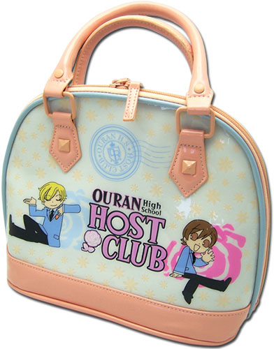 Ouran H.s. Host Club - Sd Haruhi & Tamaki Domebag, an officially licensed Ouran High School Host Club product at B.A. Toys.
