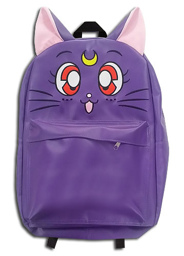Sailor Moon - Luna Pu Leather Backpack, an officially licensed Sailor Moon product at B.A. Toys.