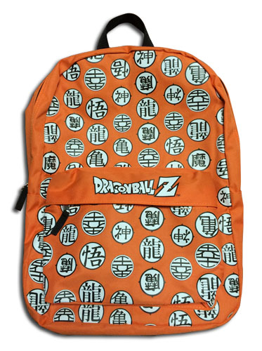 Dragon Ball Z - Symbols Backpack, an officially licensed product in our Dragon Ball Z Bags department.