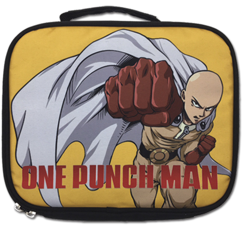 One Punch Man - Saitama Punching Lunch Bag, an officially licensed product in our One-Punch Man Bags department.