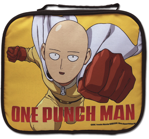 One Punch Man - Saitama Lunch Bag, an officially licensed product in our One-Punch Man Bags department.