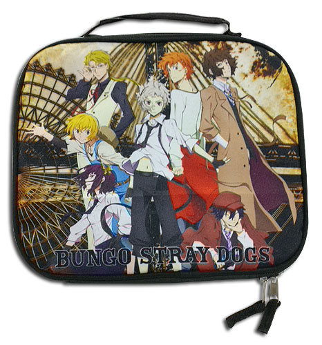 Bungo Stray Dogs - Key Art Lunch Bag, an officially licensed product in our Bungo Stray Dogs Bags department.