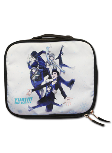 Yuri!!! On Ice - Key Art Lunch Bag, an officially licensed product in our Yuri!!! On Ice Bags department.