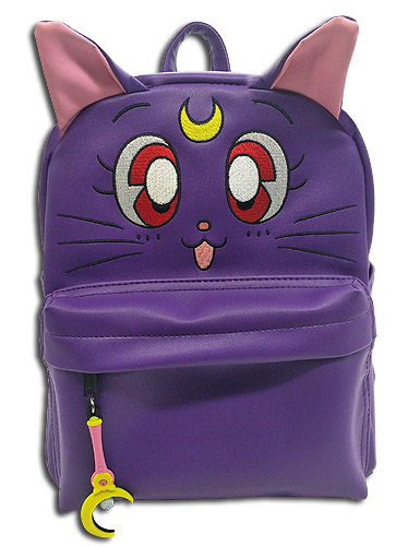 Sailor Moon - Luna Pu Mini Backpack, an officially licensed product in our Sailor Moon Bags department.