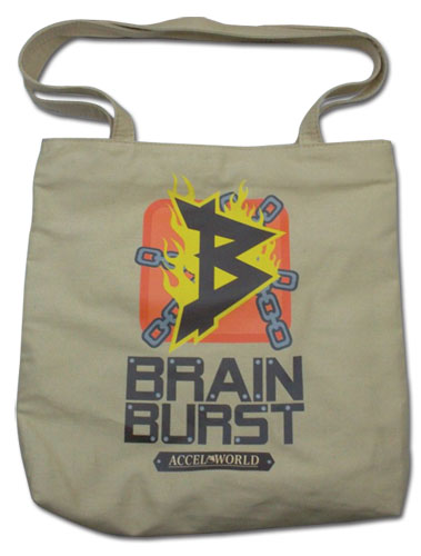 Accel World Brain Burst Icon Tote Bag, an officially licensed Accel World product at B.A. Toys.