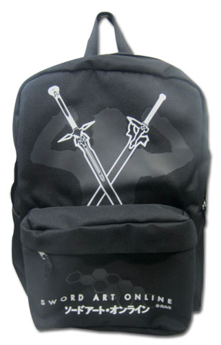 Sword Art Online Kirito With Swords Backpack, an officially licensed product in our Sword Art Online Bags department.