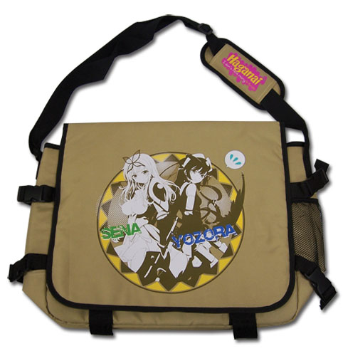 Haganai - Sena & Yozora Messenger Bag, an officially licensed Haganai product at B.A. Toys.