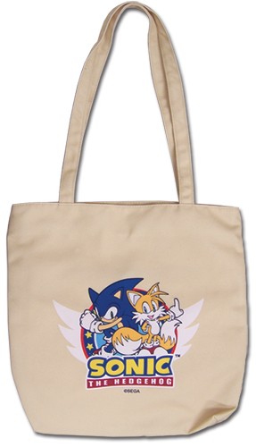 Sonic The Hedgehog - Sonic & Tails Tote Bag, an officially licensed product in our Sonic Bags department.