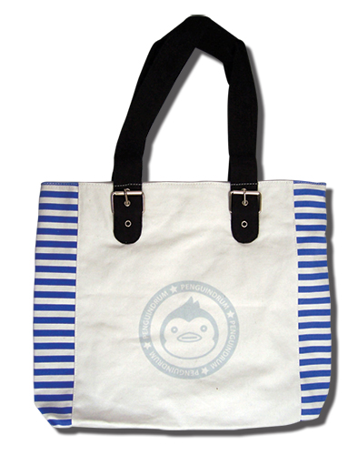 Penguin Drum - Penguin Tote Bag officially licensed product at B.A. Toys.