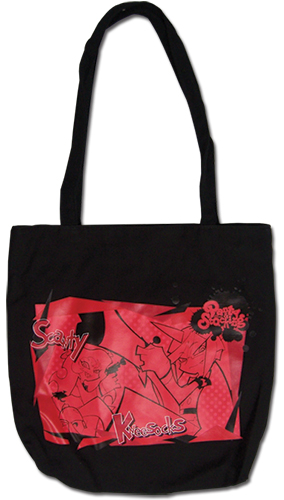 Panty And Stocking - Devil Sisters Tote Bag, an officially licensed product in our Panty & Stocking Bags department.