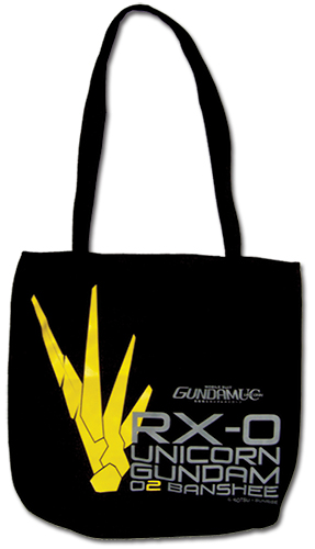Gundam Uc - Banshee Tote Bag, an officially licensed product in our Gundam Uc Bags department.