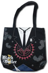 Black Butler 2 Sebastain Tote Bag, an officially licensed product in our Black Butler Bags department.