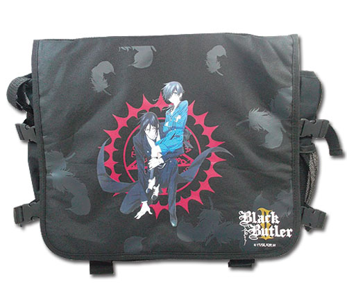 Black Butler 2 - Sebastian & Ciel Messenger Bag, an officially licensed Black Butler product at B.A. Toys.