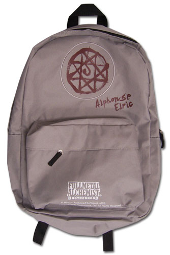 Fullmetal Alchemist Brotherhood - Al Backpack, an officially licensed Full Metal Alchemist Bag