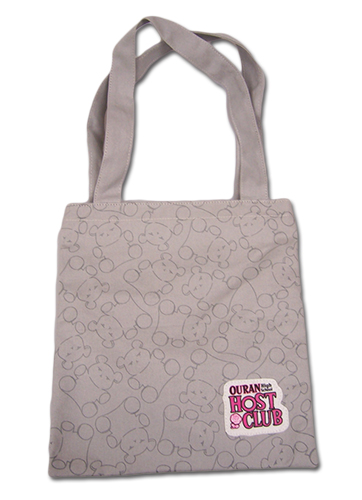 Ouran H.S Host Club - Bear Pattern Tote Bag, an officially licensed product in our Ouran High School Host Club Bags department.