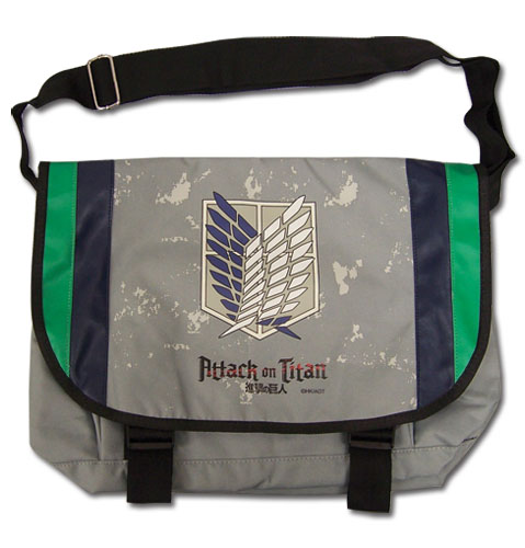 Attack On Titan - Sout Regiment Messenger Bag, an officially licensed Attack On Titan product at B.A. Toys.