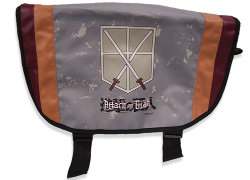 Attack On Titan Trainees Squad Messenger Bag, an officially licensed product in our Attack On Titan Bags department.