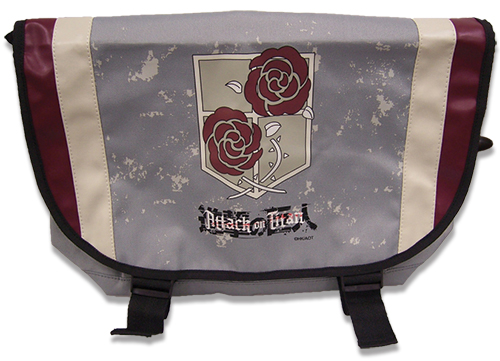 Attack On Titan - Stationary Guard Messenger Bag, an officially licensed product in our Attack On Titan Bags department.