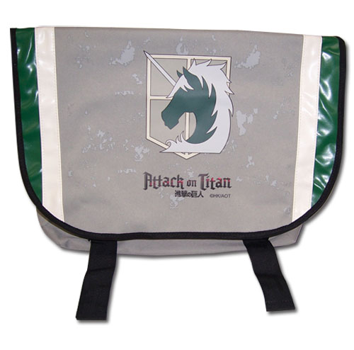 Attack On Titan - Military Police Messenger Bag, an officially licensed product in our Attack On Titan Bags department.