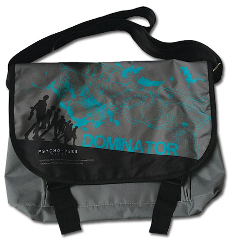 Psycho Pass - Dominator Messenger Bag, an officially licensed Psycho-Pass product at B.A. Toys.