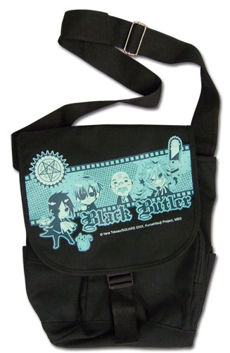 Black Butler - Group Messenger Bag, an officially licensed Black Butler product at B.A. Toys.