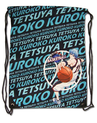 Kuroko's Basketball - Kuroko Drawstring Bag, an officially licensed product in our Kuroko'S Basketball Bags department.