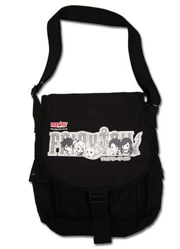 Fairy Tail - Sd Grey Group Messenger Bag, an officially licensed product in our Fairy Tail Bags department.