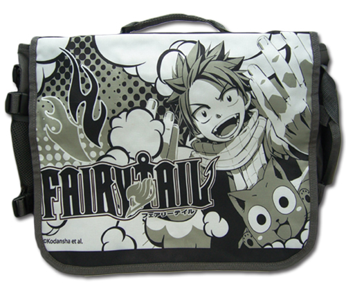 Fairy Tail - Natsu & Gray Messenger Bag, an officially licensed product in our Fairy Tail Bags department.