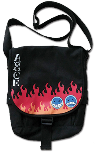 One Piece - Ace' s Hat Icon Messenger Bag, an officially licensed product in our One Piece Bags department.
