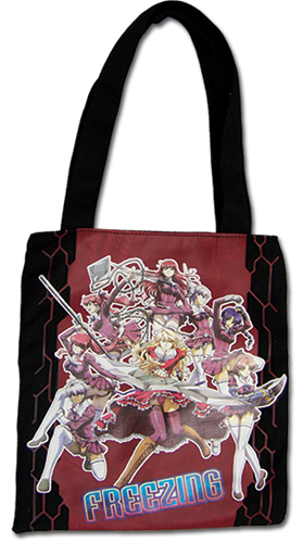 Freezing - Characters Tote Bag, an officially licensed Freezing Bag