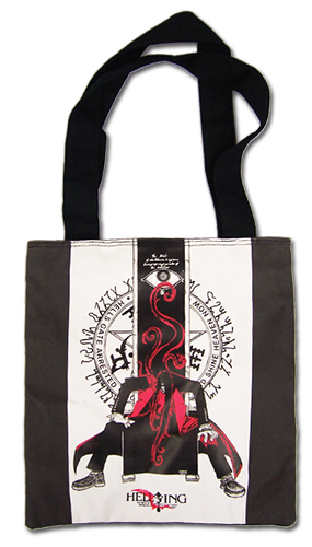 Hellsing Ultimate - Alucard Tote Bag officially licensed product at B.A. Toys.