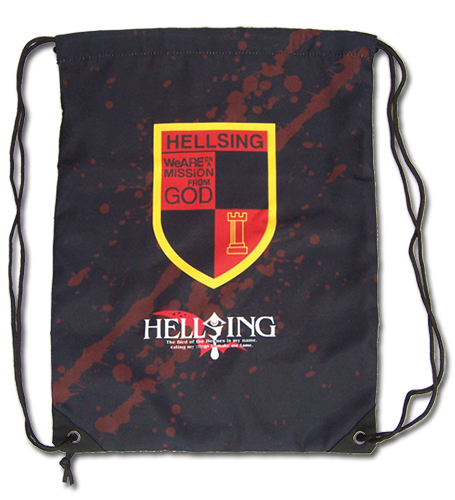 Hellsing Ultimate - Emblem Drawstring Bag, an officially licensed product in our Hellsing Bags department.
