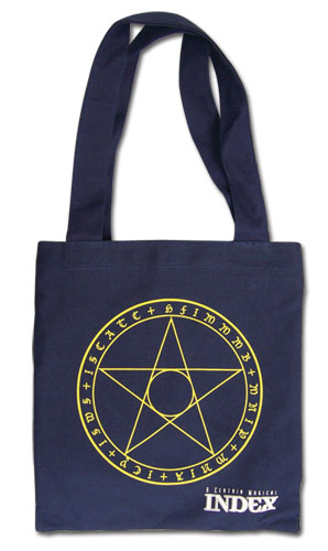 A Certain Magical Index - Index Magica Tote Bag, an officially licensed A Certain Magical Index Bag
