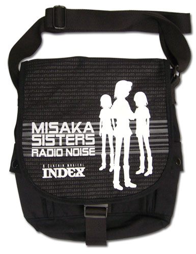 A Certain Magical Index - Misaka Sisters Messenger Bag, an officially licensed A Certain Magical Index product at B.A. Toys.