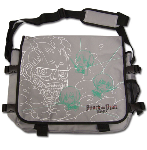 Attack On Titan - Sd Attack On Titan Messenger Bag, an officially licensed product in our Attack On Titan Bags department.