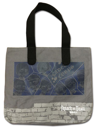 Attack On Titan - Sd Cadet Corps Tote Bag, an officially licensed product in our Attack On Titan Bags department.