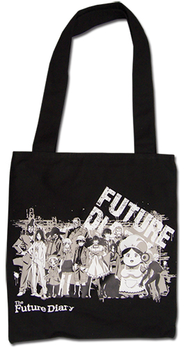 Future Diary - Diary Holders Tote Bag, an officially licensed product in our Future Diary Bags department.