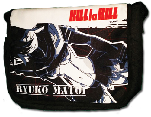 Kill La Kill - Ryuko Messenger Bag, an officially licensed Kill La Kill product at B.A. Toys.