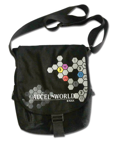 Accel World - Symbol Messenger Bag officially licensed Accel World Bags product at B.A. Toys.