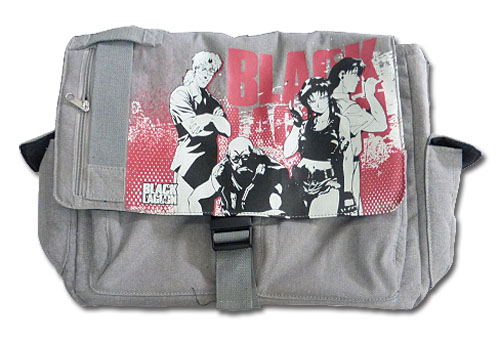 Black Lagoon - Group Gray Messenger Bag, an officially licensed product in our Black Lagoon Bags department.