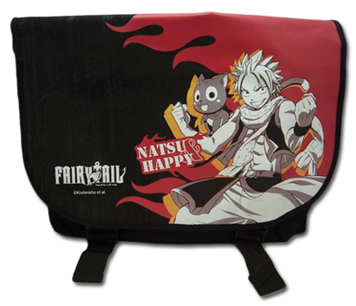 Fairy Tail - Natsu & Happy Messenger Bag, an officially licensed Fairy Tail Bag