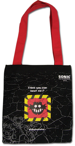 Sonic The Hedgehog - Mr. Egggman Tote Bag, an officially licensed product in our Sonic Bags department.