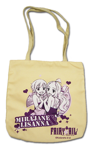 Fairy Tail S4 - Mirajane & Lisanna Tote Bag, an officially licensed product in our Fairy Tail Bags department.