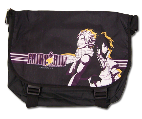 Fairy Tail - S4 Natsu & Zeref Messenger Bag, an officially licensed product in our Fairy Tail Bags department.