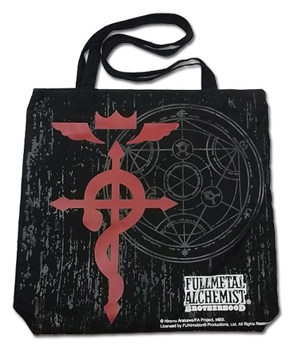 Fullmetal Alchemist Brotherhood - Icon Tote Bag, an officially licensed product in our Fullmetal Alchemist Bags department.
