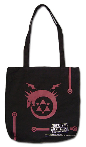 Fullmetal Alchemist Brotherhood - Ouroboros Tote Bag, an officially licensed Fullmetal Alchemist product at B.A. Toys.