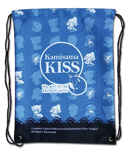 Kamisama Kiss - Group Sd Drawstring Bag, an officially licensed Kamisama Kiss product at B.A. Toys.