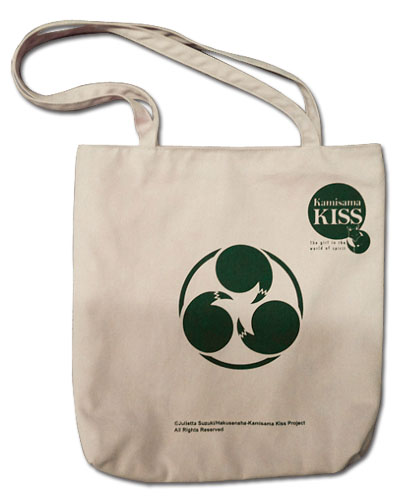 Kamisama Kiss - Tomoe Emblem Tote Bag, an officially licensed product in our Kamisama Kiss Bags department.