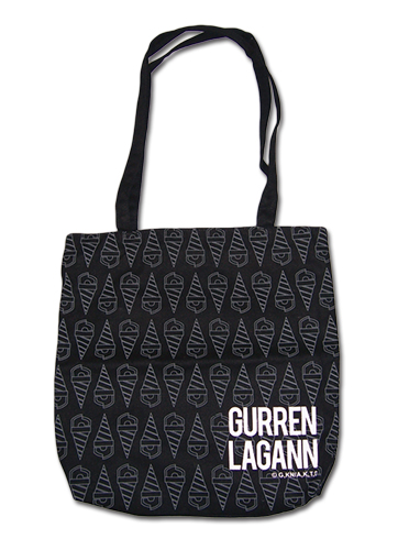 Gurren Lagann - Core Rill Tote Bag, an officially licensed product in our Gurren Lagann Bags department.