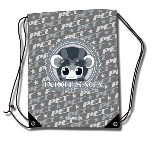 Ixion Saga - Pet Drawstring Bag, an officially licensed product in our Ixion Saga Bags department.